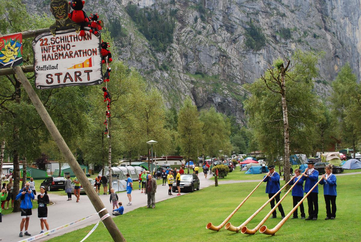 Halbmarathon - INFERNO TRIATHLON - Mürren, Switzerland